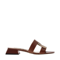 LEATHER CUT OUT MULES