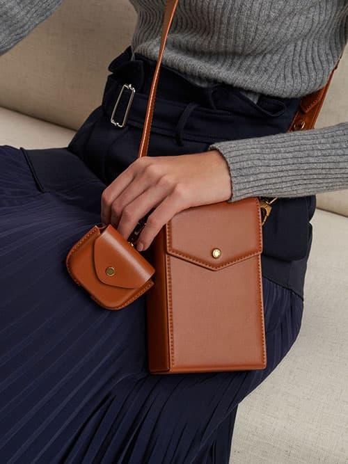 Elongated Crossbody Bag
