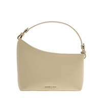 ASYMMETRICAL SHOULDER BAG