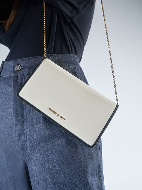 Long Wallet, Cream