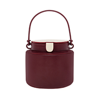 Cylindrical Bucket Bag