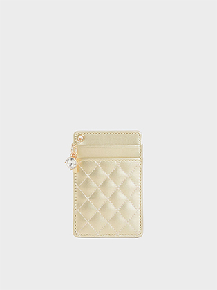 QUILTED CARD HOLDER