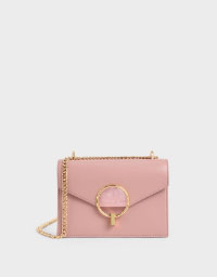 STONE-EMBELLISHED SHOULDER BAG