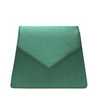 Satin Angular Crossbody Bag