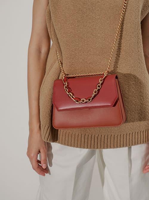 Swarovski Crystal Embellished Shoulder Bag