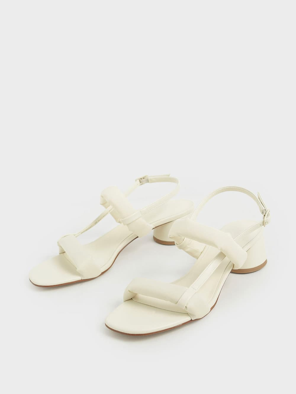 Puffy Strap Sandals