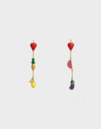 FRUITS DROP EARRINGS