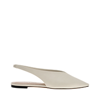 POINTED TOE SLINGBACK BALLERINAS