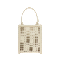 KNOTTED HANDLE TOTE BAG