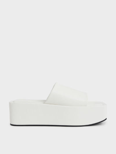 Square Toe Flatforms