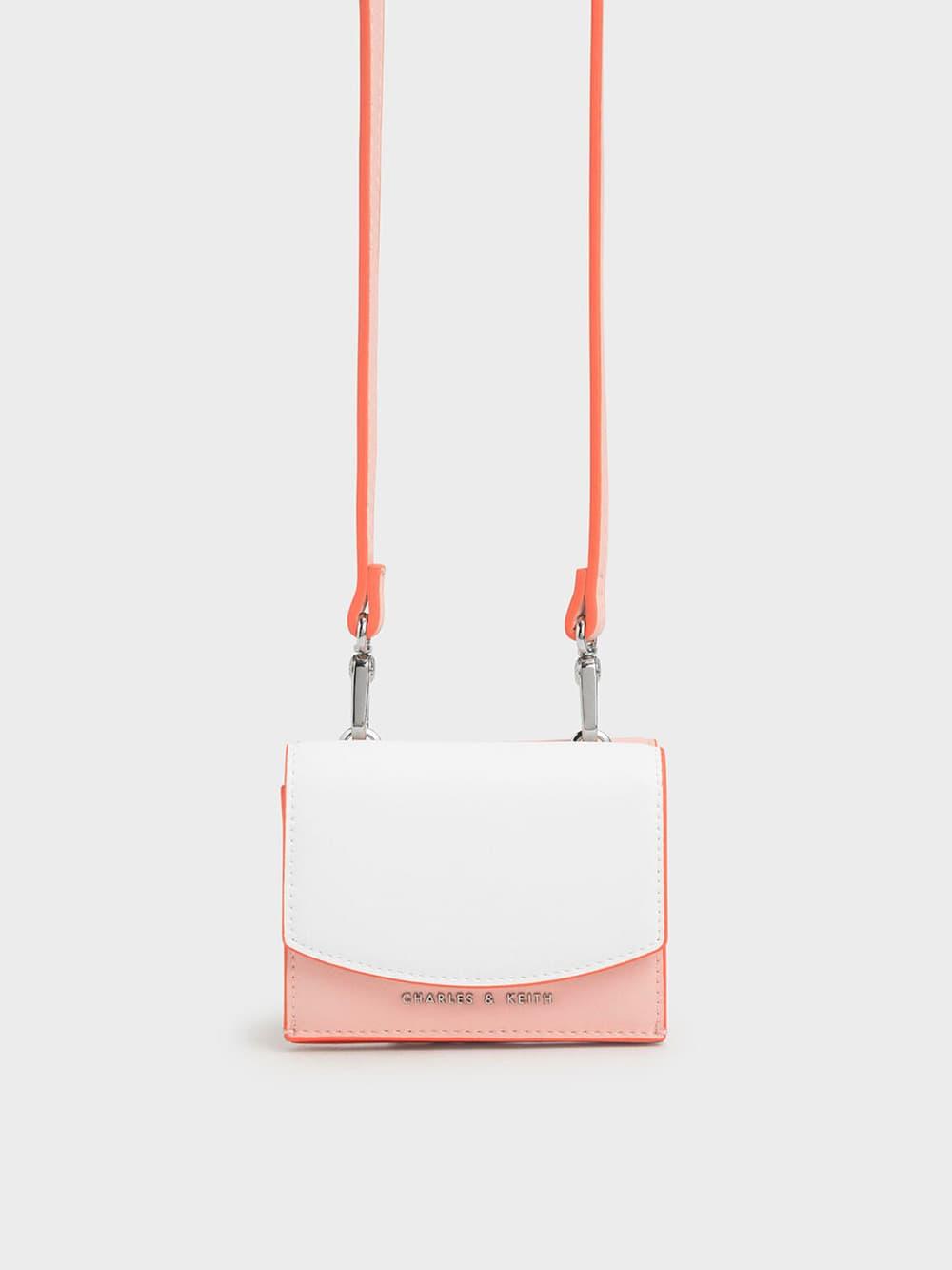 Two-Tone Mini Short Wallet