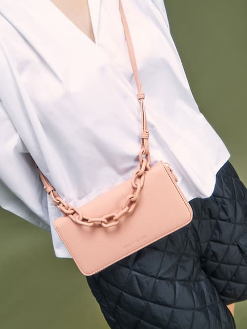 Chain Link Long Wallet