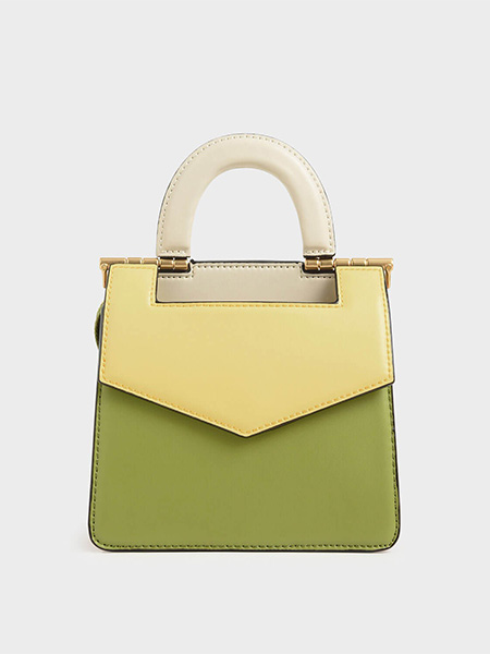Mini Two-Tone Envelope Bag