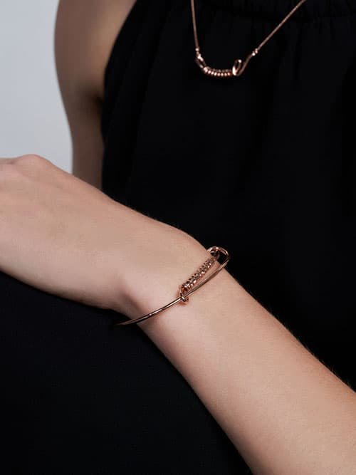 Twist Bangle Bracelet