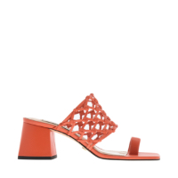 WOVEN TOE RING SANDALS