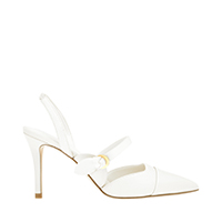 Mary Jane Strap Slingback Pumps