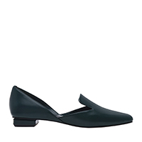 SQUARE TOE D'ORSAY LOAFERS