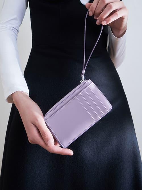 Wristlet Card Holder, Lilac