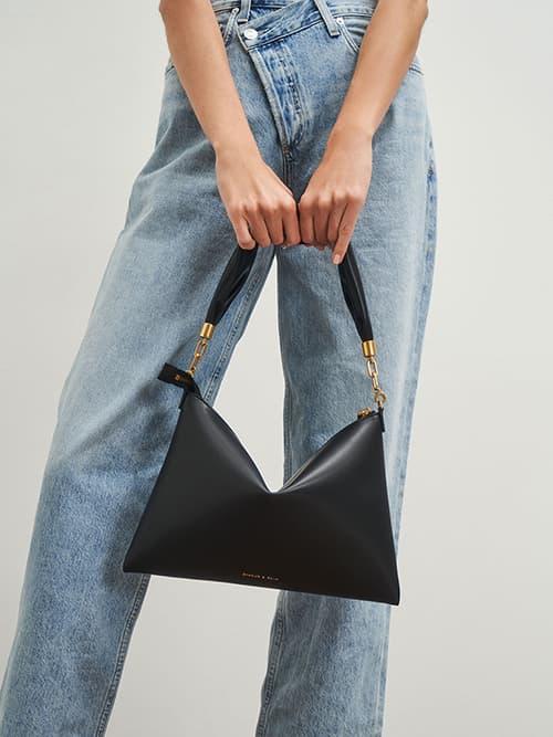 Hobo Bag, Black