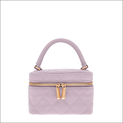 TWO-WAY ZIP QUILTED BAG