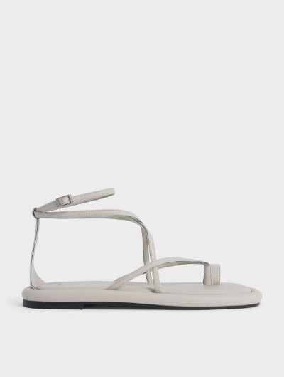 Padded Toe Loop Sandals
