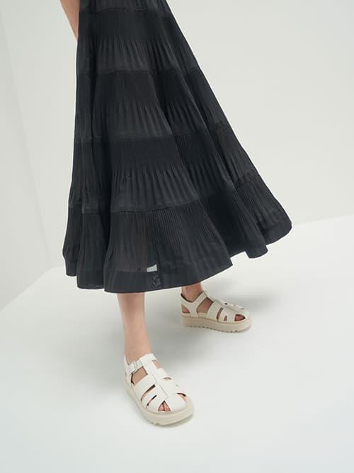 Cut-Out Sports Sandals