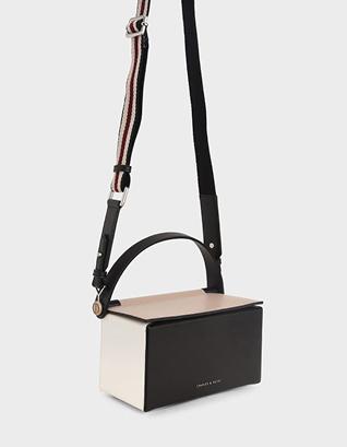 TOP HANDLE BOX BAG