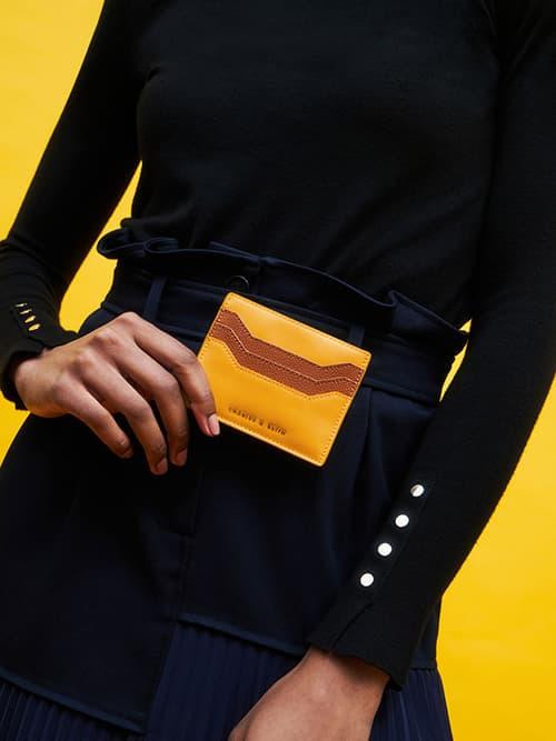 멀티-슬롯 카드 홀더, 옐로우