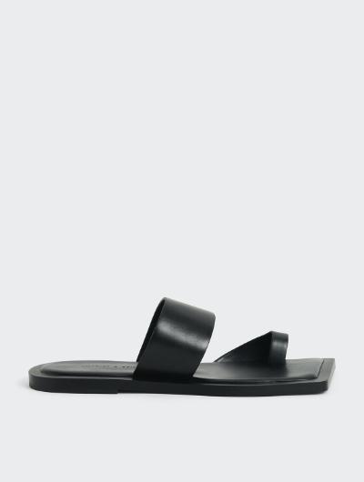 Toe Loop Slide Sandals